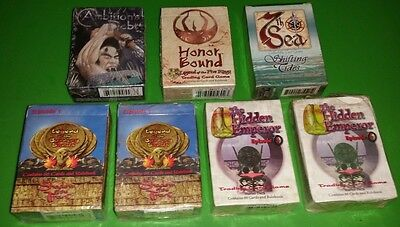 Ccg Lot New Sealed Decks Legend Of The Burning Sands Hidden Emperor Honor Bound