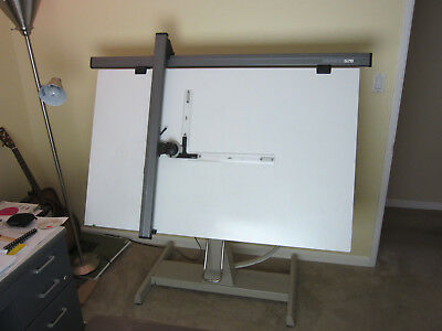 Vintage VEMCO 520 Drafting Arm and Table