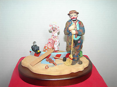Emmett Kelly - 0395/9000 Limited Edition - In the Spotlight - Stanton Arts w/box