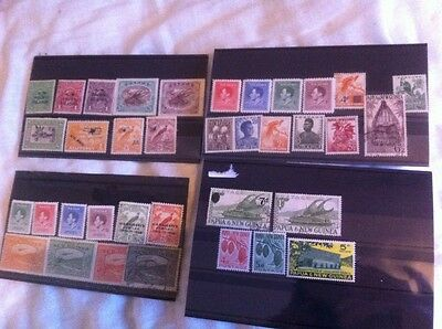 Papua and New Guinea stamps. mostly mint.