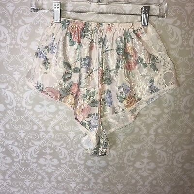Vintage Lucie Ann II Panties Undies High Thigh Lace made in USA  Medium M