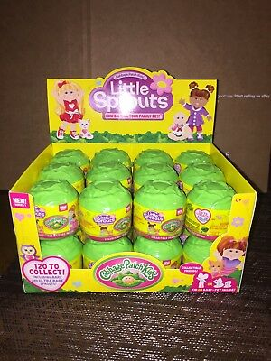 New Cabbage Patch Kids Little Sprouts Case Of 24 & Display Box I Ship Everyday