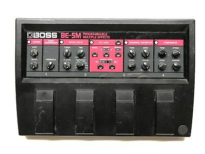 Boss BE-5M, Multi Effects, (Chorus, Delay, Overdrive, Distortion, Compressor), M