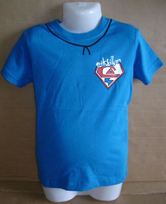Quiksilver Boys Tee T-Shirt size 3 New without Tags blue