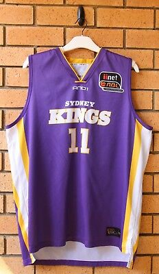 Sydney Kings 2010/11 Patrick Sanders And1 Nbl Jersey Rare! Xxl 2Xl