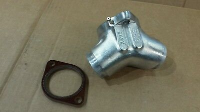 Harley S&S Super G Intake Manifold  Evo 99-13 342X Polished New Insulator Block