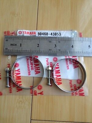 Yamaha # 304-14455-70 Manifold Clamp,hose Clamp,intake Joint Clamp,air Intake