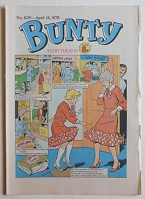 BUNTY COMIC #1109 - 14th April 1979