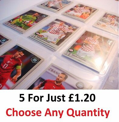 #1 - 480 (5 FOR £1.20) Panini Road To 2018 FIFA World Cup Russia STICKERS