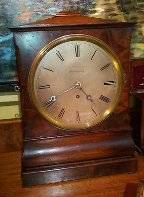 antique bracket clock circa 1820