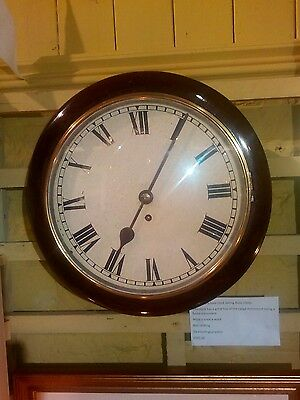 antique railway/school clock