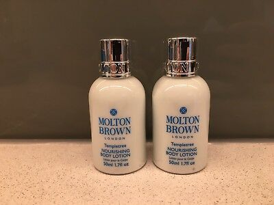 Molton Brown Templetree Body Lotion 2 x 50ml