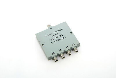 Power Divider 1-4 Ghz Mw-12733 Sma 4 way