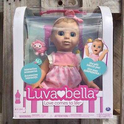 Luvabella Dolls Blonde, Brunette Brand New in Box UK Seller Ready to ship