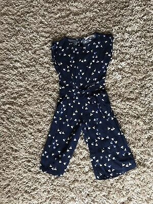 Girls 3/4 jumpsuit aged 6