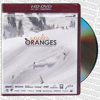 Apples & Oranges HD   Snowboard / Snowboarding DVD - SALE PRICE