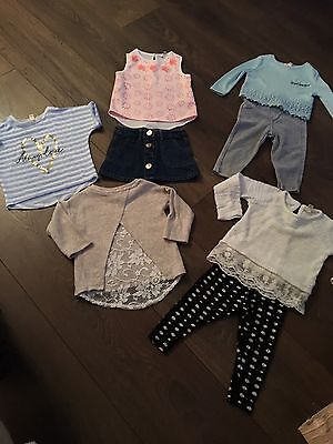 River Island Mini Baby Girls Bundle Age 3-6 Months