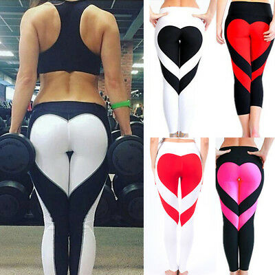 Fashion Womens Workout Gym YOGA Fitness Leggings Sports Pants Athletic Trousers