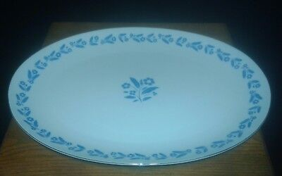 "Fine China of Japan ""Symphony In Blue"" Serving Platter 14"""