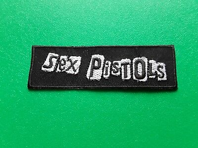 Punk Rock Heavy Metal Music Sew / Iron On Patch:- The Sex Pistols