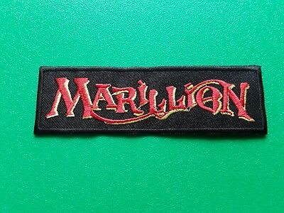 PUNK ROCK HEAVY METAL MUSIC SEW / IRON ON PATCH:- MARILLION (a) FISH