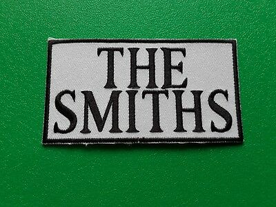 PUNK ROCK HEAVY METAL MUSIC SEW / IRON ON PATCH:- THE SMITHS (b)