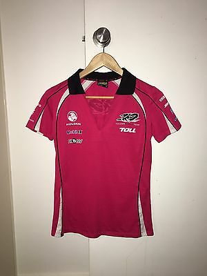 Women's Holden T Shirt Polo Size 8