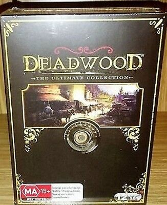 DEADWOOD: The ULTIMATE Collection Seasons 1-3 1+2+3 DVD TV SERIES BRAND NEW R4