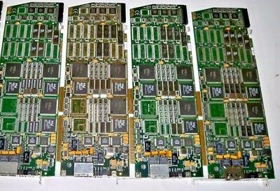 Dialogic D/240SC2T1 Dual Span Voice Proc Card ISA Board UNTESTED (Lot of 4)
