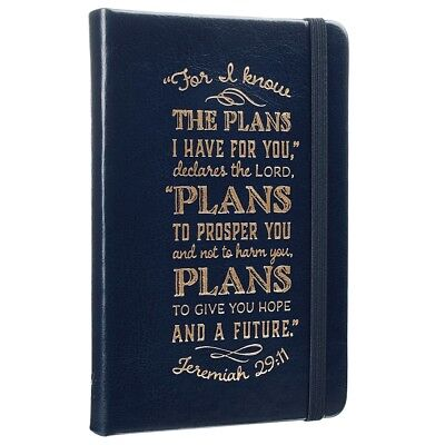 Bible Journal Notebook Leather Diary Notepad Prayer Scripture Daily Devotions !!