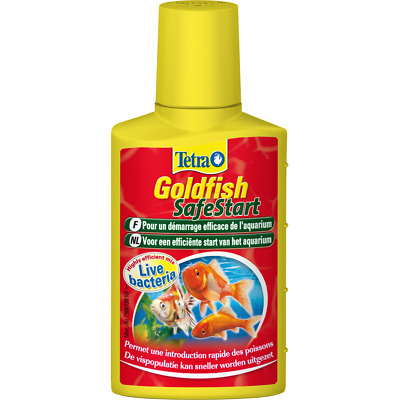TETRA  Goldfish  SafeStart 50ml  WATER CONDITIONER
