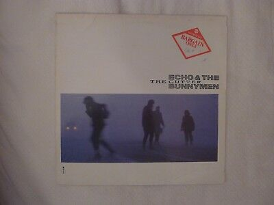 "Echo & The Bunnymen: The Cutter 12"" EP Single (1983)"
