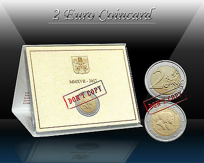 VATICAN 2 EURO 2017 ( Saint Peter and Saint Paul ) Commemor. coin (CoinCard) *BU