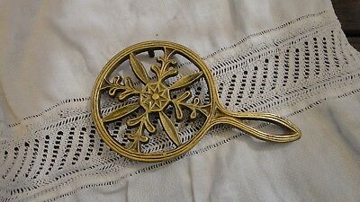 Antique Brass Trivet
