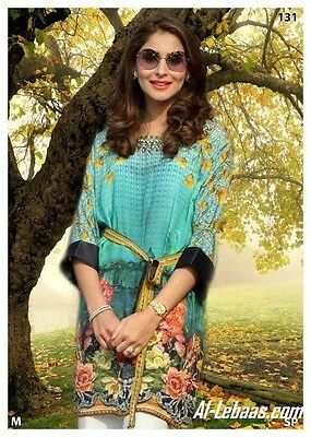 Digital Print Silk Kurti Tunic Scenic