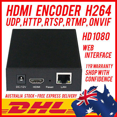 Hdmi Video Encoder H264 Live Broadcast Streaming - Facebook Live Youtube Wowza