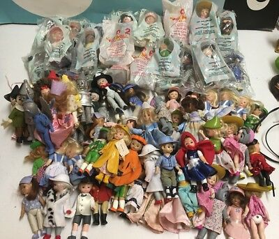 McDonalds Madame Alexander Large Lot of Mini Dolls 99