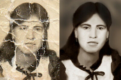 Professional Photo Restoration services, fix, restore and color