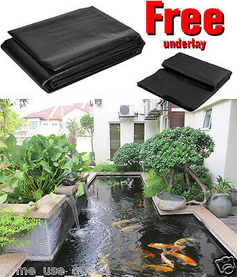 Top Quality Garden Leakproof Pond Liner Lifetime Guarantee with FREE Underlay