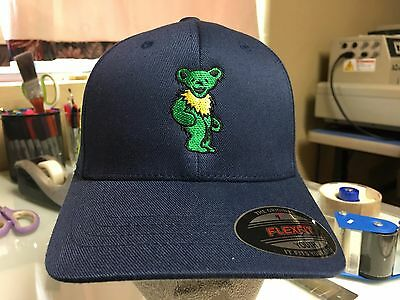 Grateful Dead Dancing Bears Youth Kids Embroidered Youth Flexfit Ball Cap