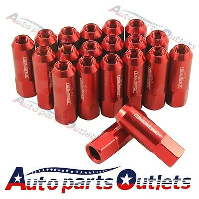 Jdmspeed For Ford Mustan 20Pc Red Extended Forged Aluminum Tuner Racing Lug Nut