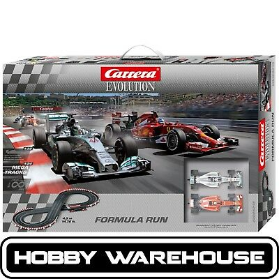 Carrera Evolution Formula Run Slot Racing Set