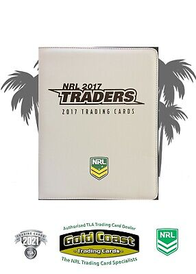 2017 Nrl Traders Album With Complete Base Set - Full Set 160 Common Cards