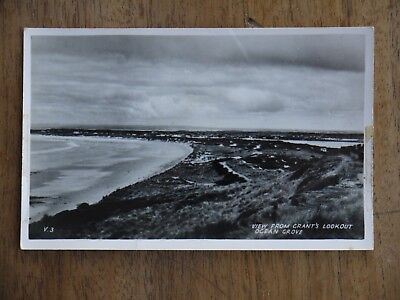 "(F1P10) Vintage Real Photo Postcard ""Grant's Lookout, Ocean Grove"""