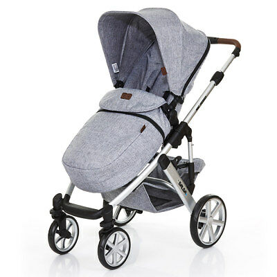 ABC Design Beindecke für Kinderwagen Buggy Sportwagen Universal - Graphite Grey