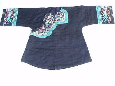 Miao Hmong Woman's Vintage Jacket Embroidery Costume China