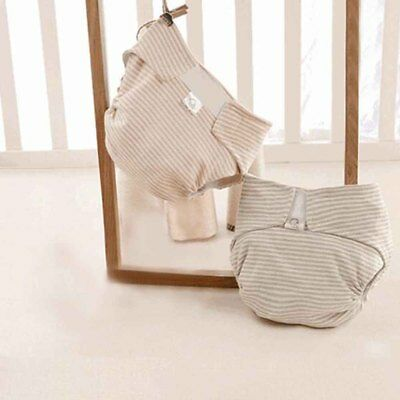 Reusable Adjustable Nappies Newborn Baby Natural Breathable Organic Cotton