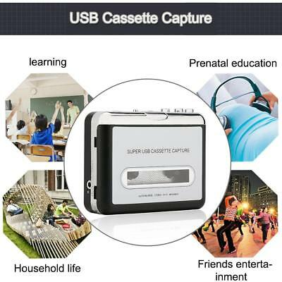 Tape to PC MP3 Ipod CD USB Cassette-to-MP3 Converter Capture Digital Adapter YY