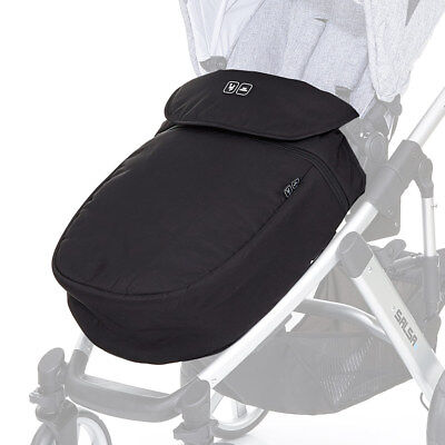 ABC Design  Kinderwagen Buggy Beindecke Fußsack - Black