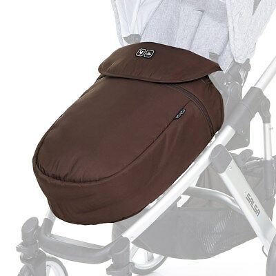 ABC Design Kinderwagen Buggy Beindecke Fußsack - Chestnut